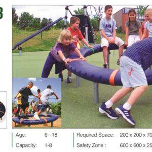 مجموعه بازی مدرن ps 3013 مناسب استفاده در فضای باز و بسته تفریحی