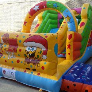 سرسره بادی دریایی با ارتفاعی مناسب جهت استفاده در مکان های سقف دار و بدون سقف تفریحی کودکان