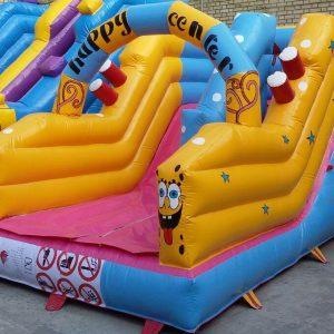 سرسره بادی کوچک با کیفیت بالا و قیمت عالی مناسب استفاده در تمامی مکان های سربسته و باز تفریحی کودکان 1