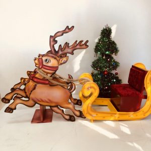 ست کریسمس کودک ساخته شده از MDF محکم و مقاوم مناسب آتلیه عکاسی