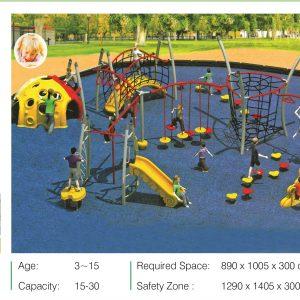 مجموعه بازی تور و طناب ps 2003 مناسب استفاده در پارک،فضاهای تفریحی کودکان و...