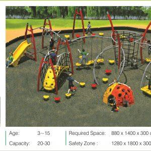 مجموعه بازی مدرن ps 2004 قابل استفاده در پارک،شهربازی و...