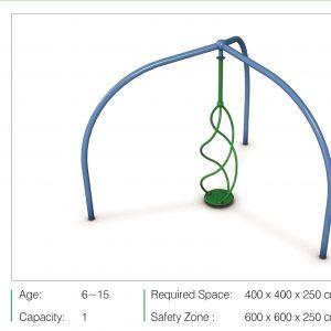 مجموعه بازی مدرن ps 3019 قابل استفاده در تمامی فضاهای تفریحی مخصوص کودکان و نوجوانان