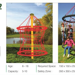 مجموعه بازی مدرن ps 3022 قابل استفاده در فضاهای تفریحی سرپوشیده و روباز