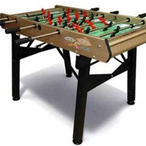میز فوتبال دستی فایربال مدل متالیک مناسب استفاده در فضاهای سرپوشیده،باشگاه ها و...