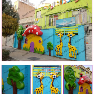 فروش انواع ماکت دیواری نو و دست دوم از جمله ماکت زرافه به صورت نقد،اقساط و شرایطی در اصفهان مناسب مکان های تفریحی با ارسال فوری به سراسر ایران