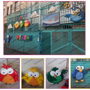 فروش نقدی،اقساطی و شرایطی ماکت پرنده های رنگی نو و دست دوم در سمنان مناسب استفاده در مکان های تفریحی کودکان با ارسال فوری به سراسر ایران